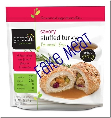 gardein stuffed turky